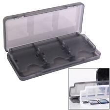 Nintendo 3 DS 3 DSXL SpieleBox 6 in 1 Game Card Box de Rangement Housse Noir