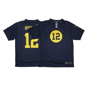 Aaron Rodgers Nike Green Bay Packers Nike Game Day Alternate Navy Youth Jersey