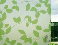 90cm x1m Leaves Privacy Frosted Frosting Removable Glass Window Film c2037