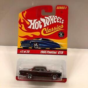 Hot Wheels Classics Series 1 1965 Pontiac GTO #2/25 Special Paint X18