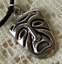 SAD  ~ CARNIVAL  ~  MASK ~  NECKLACE  -- (GREAT_GIFT)