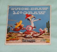vintage QUICK-DRAW McGRAW VIEW-MASTER REELS packet (missing booklet)