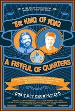 Original KING OF KONG Ultra Rare 1 Sheet BILLY MITCHELL Steve Wiebe DONKEY KONG