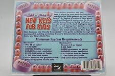 New Keys for Kids - Type to Learn Jr. Macintosh/Windows CD-ROM Ages 6-8