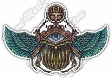"Scarab Beetle Ancient Egypt Scarabaeus Car Bumper Vinyl Sticker Decal 5""X4"""