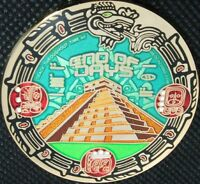 MAYAN END OF DAYS GEOCOIN - RE - GOLD - NEW - U/T