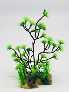 Aquarium Fish Tank Plastic Fake Water Grass Plants Ornament Decor Accessory