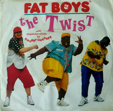 "7"" 60s Cover version! Fat Boys: the twist // MINT - \ \"