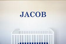 Custom Name Vinyl Decal Wall Art Decor for Nursery Children Boys Baby Room v1