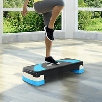 Adjustable Fitness Aerobic Stepper Exercise Trainer Workout Home Gym