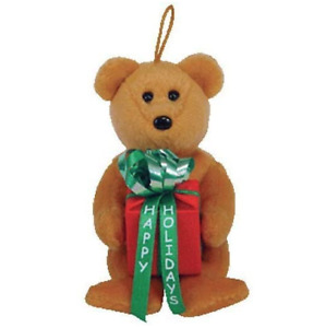 Ty Jingle Beanies Beanie Babies Gifts Teddy Bear Present Box Christmas Ornament