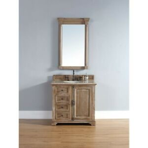 James Martin Providence 36' Single Vanity Cabinet, Driftwood - 238-105-5511