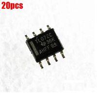 20Pcs Opamp Jfet 3Mhz Dual SOP8 TL072 Ic New fc