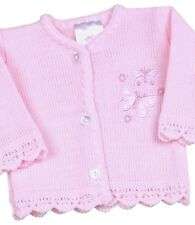 BabyPrem Baby Girls Clothes Premature Preemie Tiny Pink Knitted Cardigan 3 - 8lb 3 - 5lb