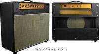 Mojotone Front Mount British 18 Watt Style Guitar Amplifier 1x12 Combo Cabinet