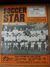 22/10/1965 Soccer Star Magazine: Vol 14, No 06 - Front Cover Picture - Bolton Wa