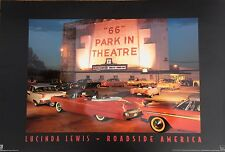 """3 x 2 Ft Route 66 High Gloss Poster from Lucinda Lewis """"66"""" Park in Theatre"""