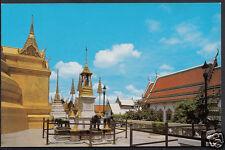 Thailand Postcard - Famous Wat (Temple) Phra Keo at Bangkok  7676