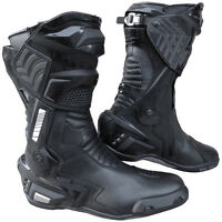 Women Motorcycle Sports Touring Racing Performance Genuine Leather Boot size 6