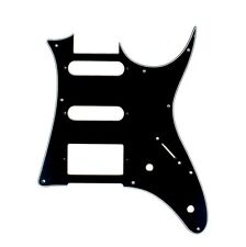 (E08) Custom Guitar Pick Guard For Ibanez RG 40 ,HSS ,3ply BLACK