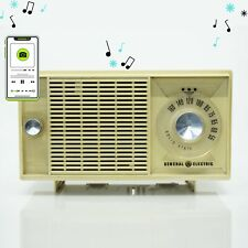 Mid-Century General Electric AM Solid State Radio. Made in USA.