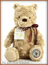 CLASSIC WINNIE THE POOH GENUINE DISNEY BNWT CHRISTOPHER ROBIN SUPERB GIFT 30cm