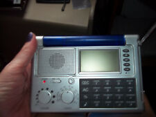 ULTRONIC Portable Travel Radio Alarm LCD WORLD Clock Calendar Calculator