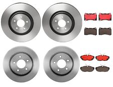 Brembo Front and Rear Brake Kit PVT Disc Rotors Ceramic Pads For Ford Mustang GT