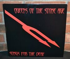 * QUEENS OF THE STONE AGE - Songs For The Deaf 2LP LTD Import CLEAR VINYL [BEND]