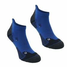Calzini da uomo blu per palestra, fitness, corsa e yoga