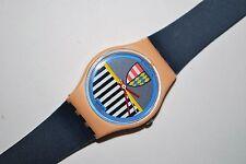 1986 Vintage Swatch Watch Ladies LP-101 VALKYRIE Swiss Quartz Free Battery