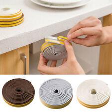 DIY 5M Foam Self Adhesive Window Door Excluder Seal Strip Rubber Tape Home 1Roll