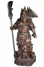 Guan Yu (Kwan Kung) - Hero Romance of the Three Kingdoms Bronze Statue Sculpture
