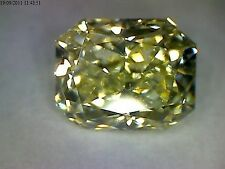 Radiant Yellow Loose Natural Diamonds