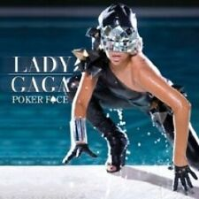 "LADY GAGA ""POKER FACE"" CD 4 TRACKS NEU"