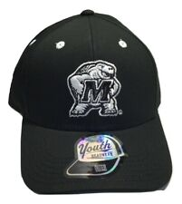 NCAA Maryland Terrapins Feisty Hat, Adjustable, Youth, Black