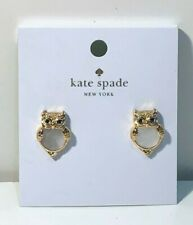 Kate Spade New York Cream/Gold Into the Woods Earrings (3.0)