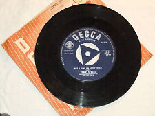 TOMMY STEELE PUT A RING ON HER FINGER/COME ON LET'S GO SINGLE 45 VINYL RECORD