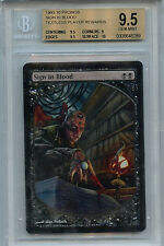 MTG Sign in Blood BGS 9.5 MTG Promos Magic card Amricons 7862
