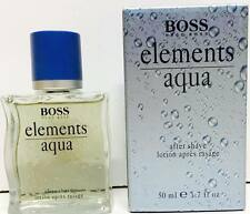 HUGO BOSS AQUA ELEMENTS AFTER SHAVE LOTION 50ml New & Rare