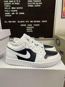 Authentic Wmns Air Jordan 1 Low Panda White/White-Black DC0774 100