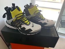 Acronym Air Presto Mid Dynamic Yellow Size 11 brand new 100% authentic