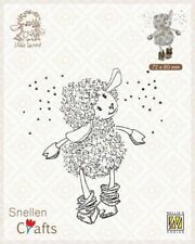 Nellie's Choice Clear stamps Little Lammy it´s snowing ...! SCLOLA002