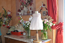 robe tartine et chocolat 9 mois rose tendre haut tout brodee comme neuve doublee