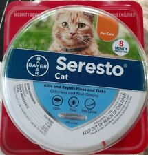 Bayer Seresto Flea and Tick Collar for Cats (10 wks or older) 8 Month