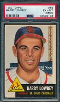 1953 Topps Set Break # 16 Harry Lowrey PSA 6 MC *OBGcards*