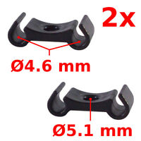 2 pcs Cable holder bike housing tidy MTB guide clip router clamp ties brake gear