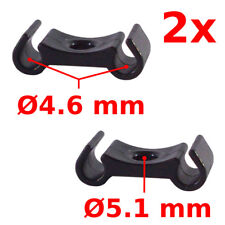 DOUBLE CABLE HOLDER HOUSING GUIDE FIX DIAMETER 4-5mm BRAKE DERAILLEUR BICYCLE