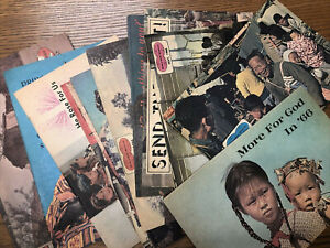 Basil Miller - World-Wide Missions - 15 Magazines - 1966-68 Evangelical Church