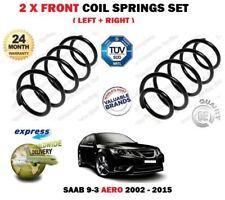 FOR SAAB 9-3 93 AERO 1.8 2.0 BIO TURBO + ESTATE 2002-> 2X FRONT COIL SPRINGS SET